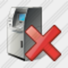 Icon Cash Dispense Delete Image