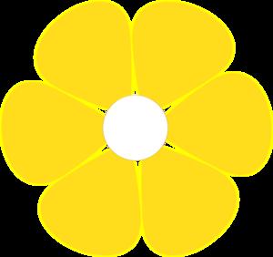 Yellow flower border clip art mightylinksfo Gallery