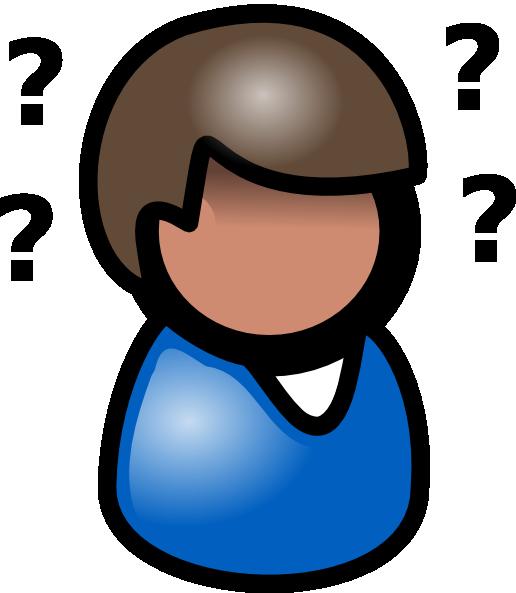 Thinking Man Clip Art at Clker.com - vector clip art ...