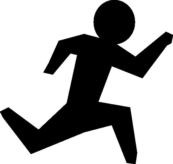 Running Man Clip Art At Clker Com Vector Clip Art Online Royalty Free Amp Public Domain