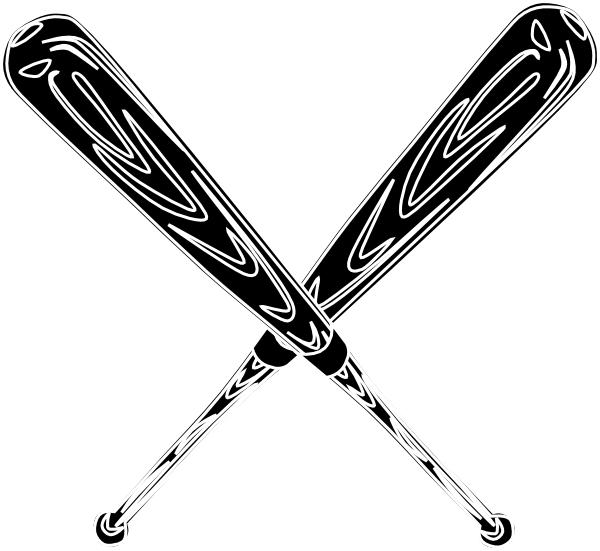 Download Baseball Bat Black Clip Art at Clker.com - vector clip art ...
