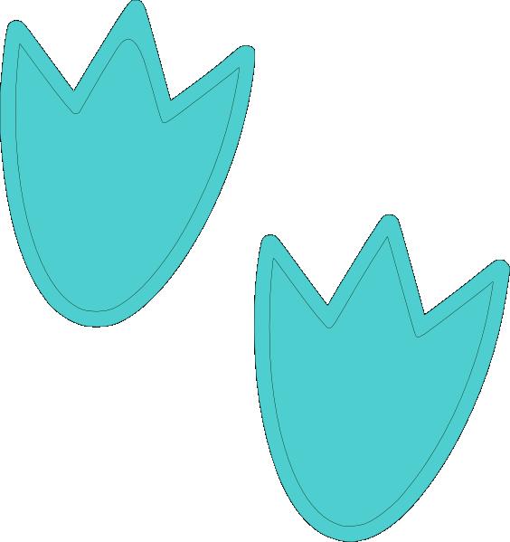 blue dino feet clip art at clker com vector clip art baby footprint clipart disney black and white baby footprint clipart border free