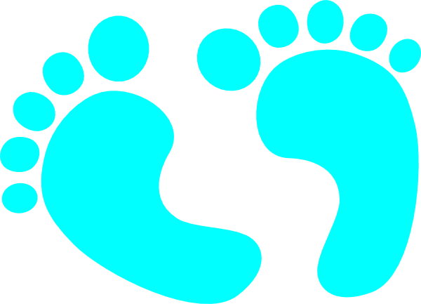 blue baby feet clip art at clker com vector clip art baby feet clip art black baby feet clip art free