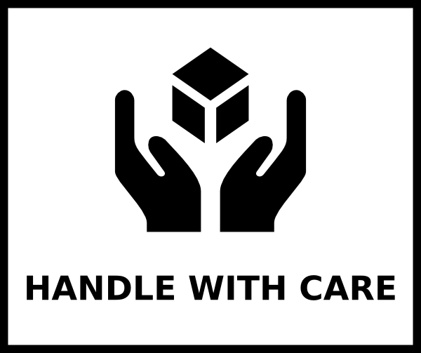 handle with care clip art at clker - vector clip art online
