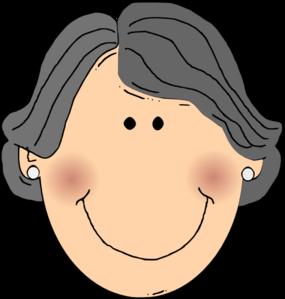 Happy Grandma Clip Art At Clker Com Vector Clip Art