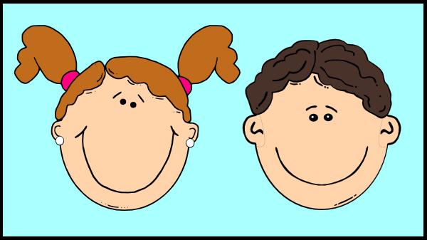 Smiling Kids In Window 2 Clip Art at Clker.com - vector ...