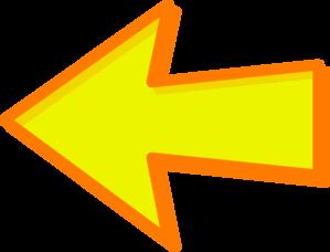 Yellow Arrow Orange Left Clip Art at Clker.com - vector ...