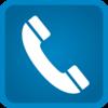 Blue Phone Fatetous clip art