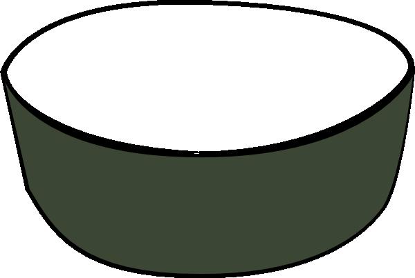 green empty pet dish clip art at clker com vector clip cereal clipart cereal clip art black and white