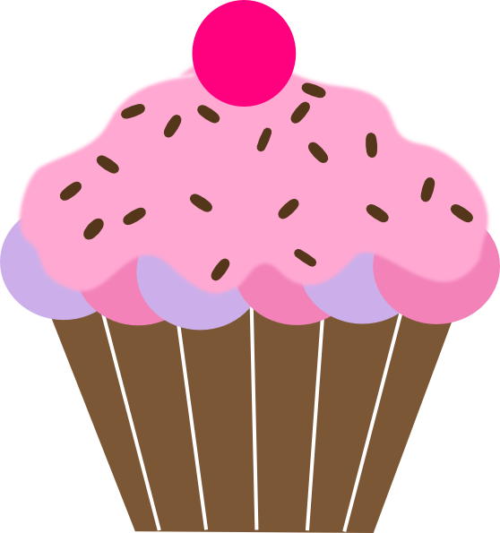 pink cupcake clip art at clker com