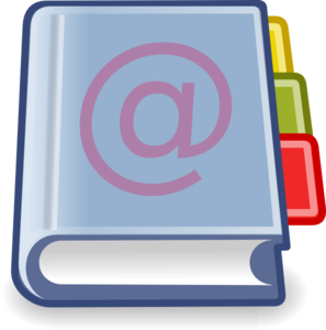 X office address book clip art at vector clip for Office 2010 clipart