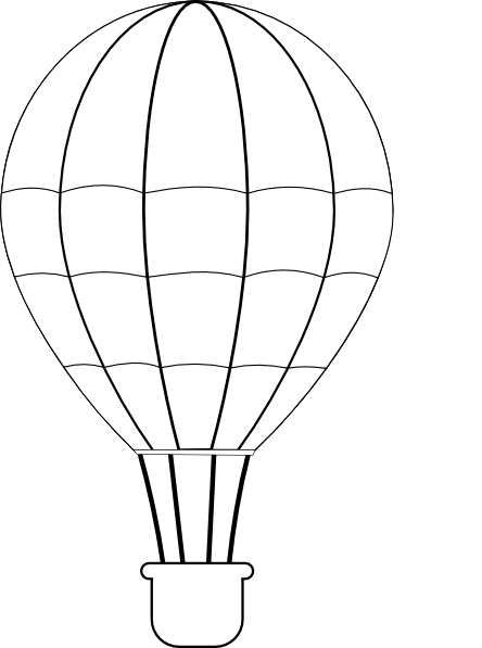 Hot Air Balloon Clip Art At Clker Com Vector Clip Art