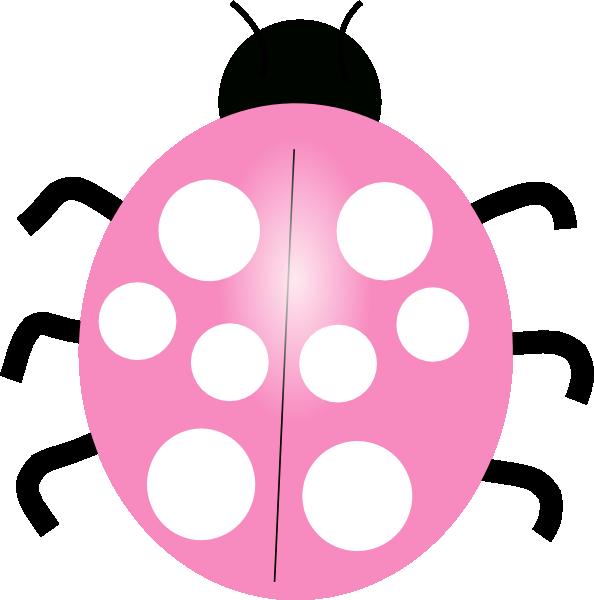 Pink Ladybug Clip Art At Clker.com