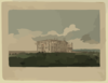 A View Of The Presidents House In The City Of Washington After The Conflagration Of The 24th August 1814  / G. Munger Del. ; W. Strickland Sculp. Clip Art