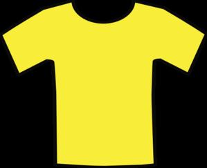 Yellow T Shirt Clip Art At Clker Com Vector Clip Art