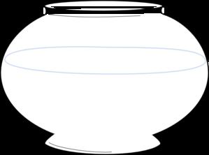 fish bowl coloring page printable - blank fishbowl clip art at vector clip art
