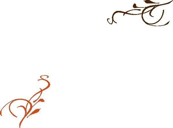 Wedding Card Design Line Art : Elegant vines wedding invite clip art at clker