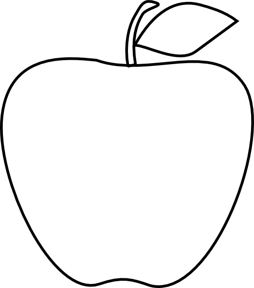 Line Art Of Apple : Apple clip art at clker vector online