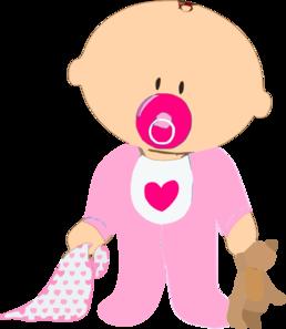 Baby Girl Clip Art at Clker.com - vector clip art online ...