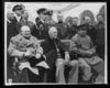 Crimean Conference--prime Minister Winston Churchill, President Franklin D. Roosevelt, And Marshal Joseph Stalin At The Palace In Yalta, Where The Big Three Met  / /u.s. Signal Corps Photo. Clip Art