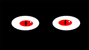 Dragon Eyes Clip Art