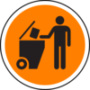 Waste Sign Clip Art