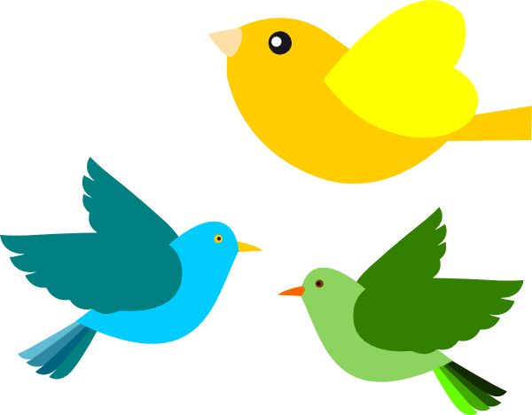 Birds Clip Art at Clker.com - vector clip art online, royalty free & public domain