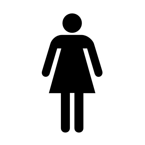 Free Restroom Cliparts Download Free Clip Art Free Clip: Woman Bathroom Bw W/o Boarder Clip Art At Clker.com