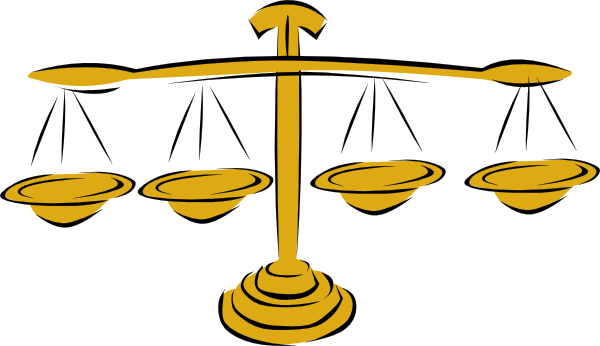 Value And Balance In Art : Balance scales clip art at clker vector