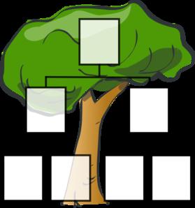 Family Tree Clip Art at Clker.com - vector clip art online ...