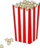 Popcorn In Bag Clip Art