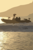 Naval Special Warfare Combatant-craft Crewmen Operate A Rigid Hull Inflatable Boat Clip Art