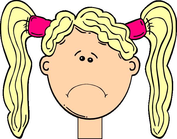 Sad Girl Clip Art At Clker.com