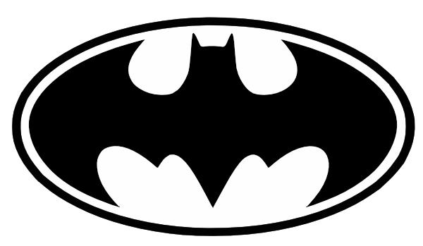 How To Draw Batman Logo Step Clip