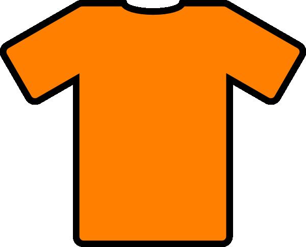 Orange Tshirt Clip Art At Clker Com Vector Clip Art