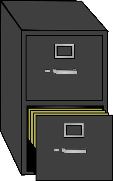 File Cabinet Clip Art At Clker Com Vector Clip Art