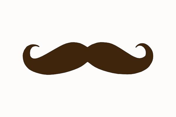 Brown Mustache Clip Art at Clker.com - vector clip art ...