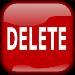 Delete Button Stock Illustrations – 9,714 Delete Button ... |Delete Trash Button Icon