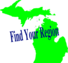 Michigan Region Clip Art