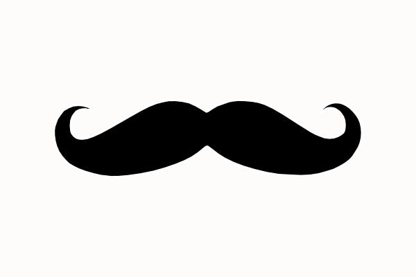 Mustache Clip Art Clker Vector