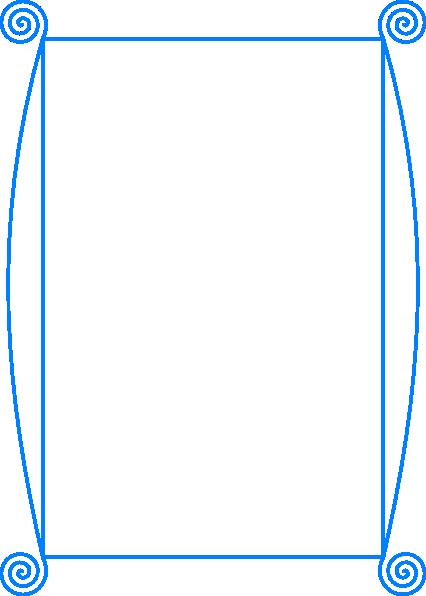 Simple Border Design Clip Art