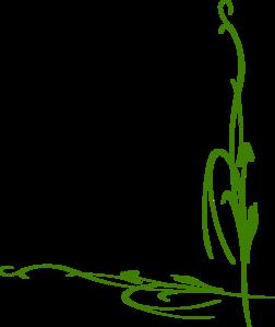 Green Vine Clip Art at Clker.com - vector clip art online ...