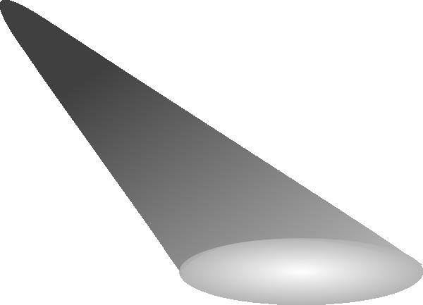 Spotlight Simple Greyscale 2 Clip Art at Clker.com ...