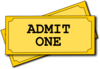 Cinema Ticket Clip Art