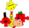 Mr Men Clip Art