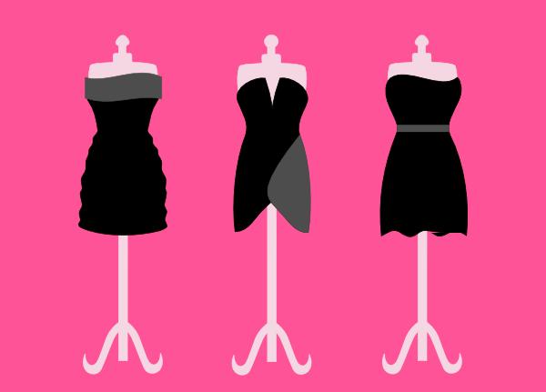 Image result for clip art prom dress
