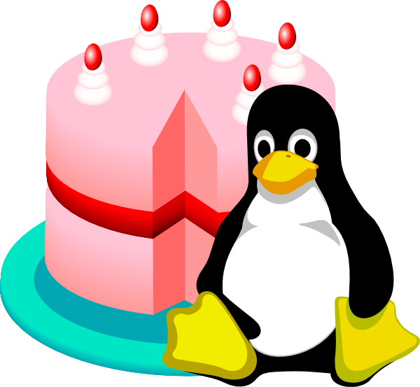 Happy Birthday Linux Clip Art At Clker Com Vector Clip
