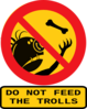Do Not Feed The Trolls Clip Art