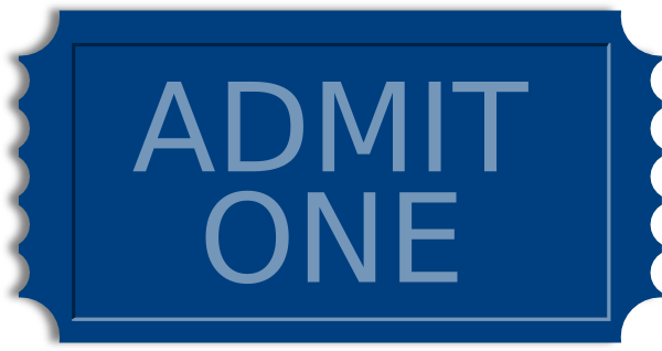 blue ticket clip art at clker com
