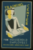 Training Center For Household Employees--household Service Demonstration Project, W.p.a.  / Cleo. Clip Art